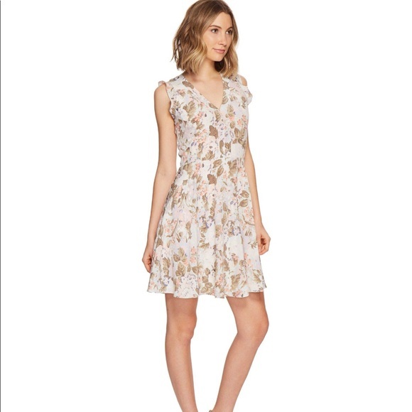 9a20ab9ec40 Rebecca Taylor Penelope Print V-Neck Dress